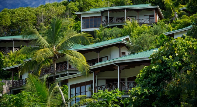 villas de jardin self catering seychelles european
